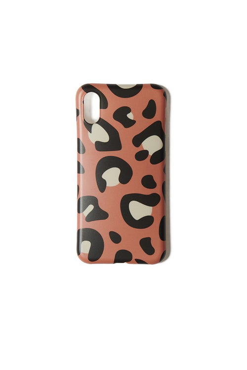Brown Leopard iPhone XS/X Case - INFLOWSTYLE | INFLOWSTYLE