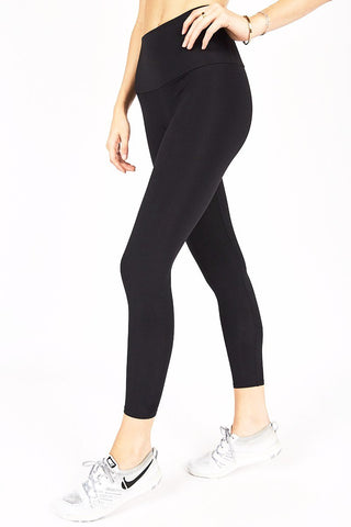 High Waisted Capri - Black
