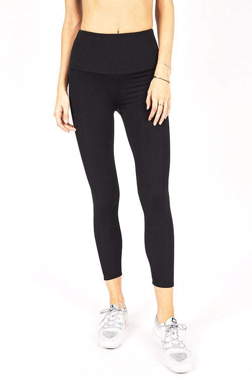 High Waisted Capri - Black - Onzie | INFLOWSTYLE