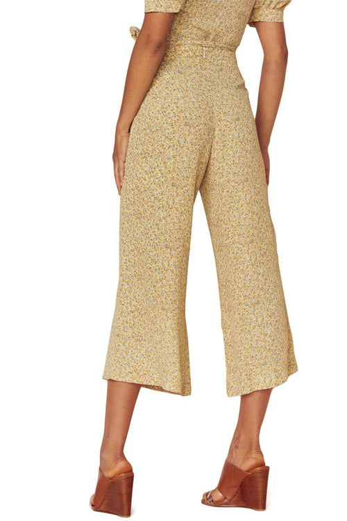 Carley High Waisted Culotte - Blue Life | INFLOWSTYLE