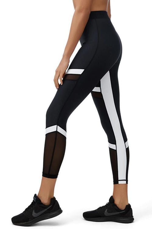 Cora 7/8 Leggings - All Fenix | INFLOWSTYLE