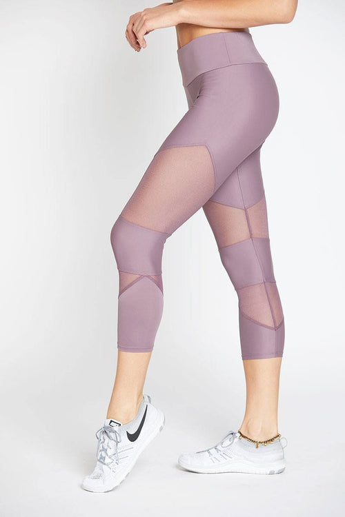 Cut Out Capri - Purple Haze - Onzie | INFLOWSTYLE