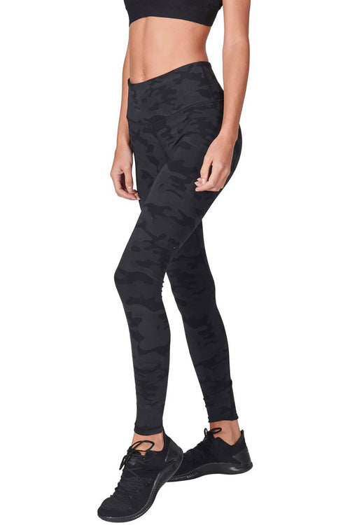 High Waist Core Legging - Dark Camo - Vimmia | INFLOWSTYLE
