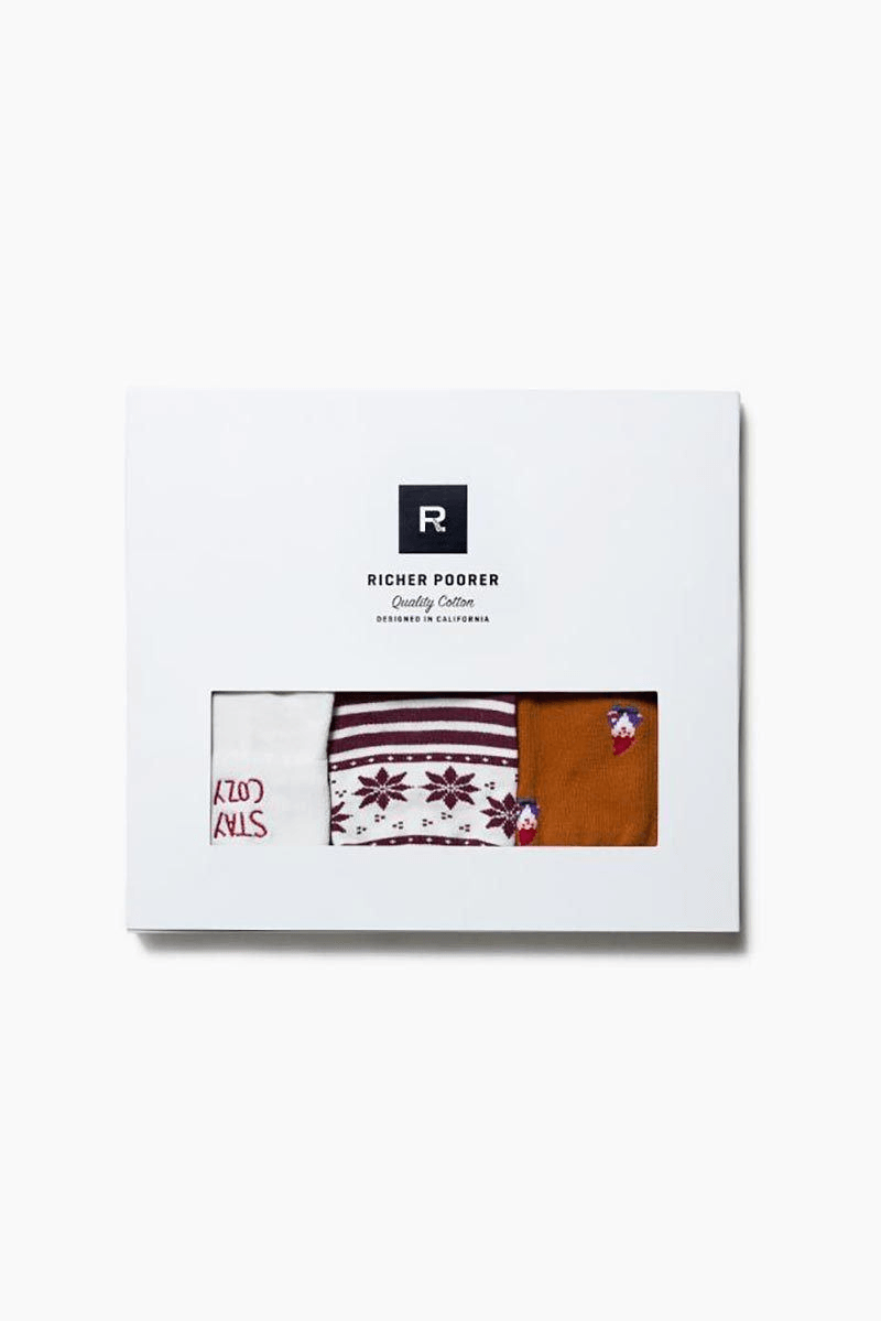 3-Pack Socks(Not For Sale) - INFLOWSTYLE | INFLOWSTYLE