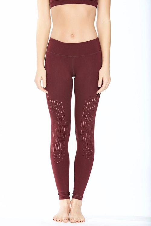 Drill Legging - Burgundy - Vimmia | INFLOWSTYLE