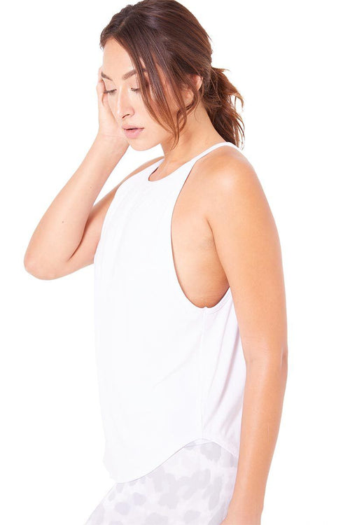 The Elle Tank - White