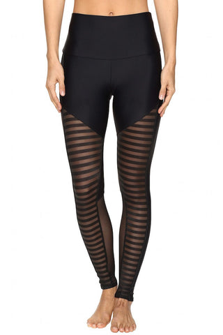 Fierce Legging - Stripe Combo