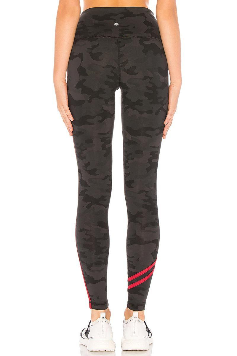 High Waisted Fire Legging - Dark Camo - Vimmia | INFLOWSTYLE