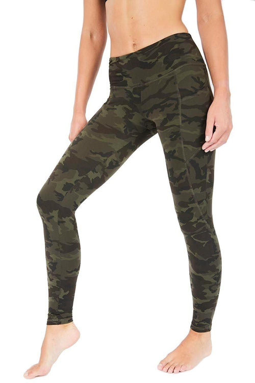 The Flynn Long - Green Camo - Strut-This | INFLOWSTYLE