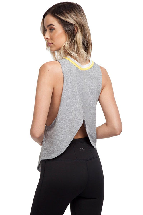 Solid Painted Desert Tank - Grey Combo - Free People | INFLOWSTYLE