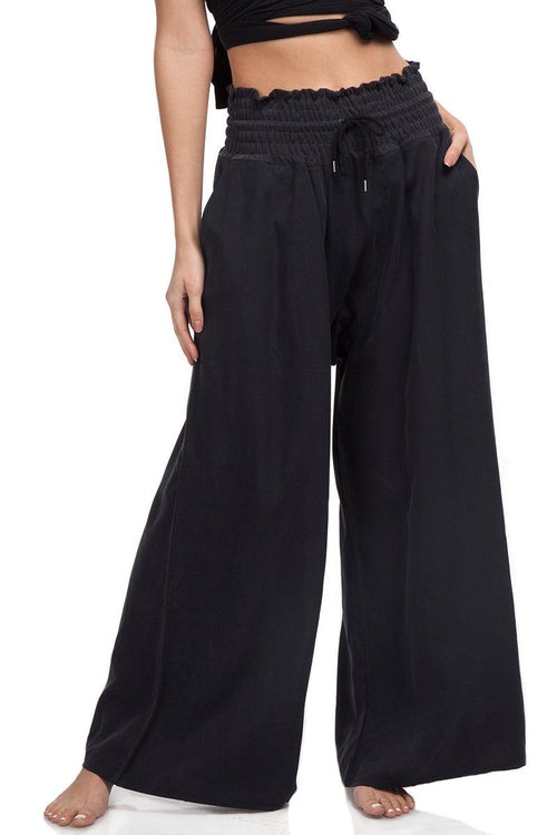 Mia Pant - Black - Free People | INFLOWSTYLE