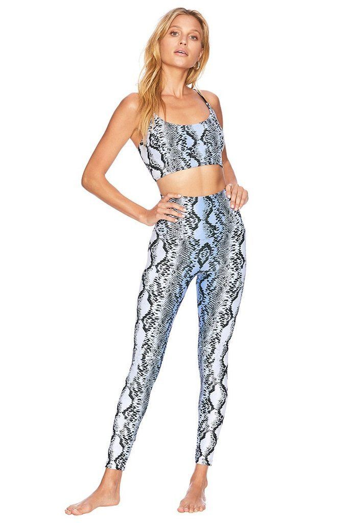 Blue Snake Legging - Beach Riot | INFLOWSTYLE