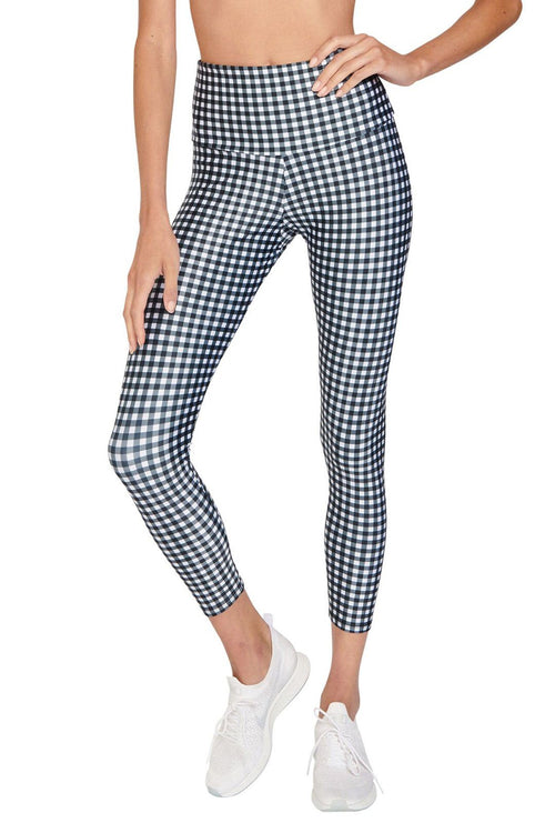 High Basic Midi - Gingham - Onzie | INFLOWSTYLE