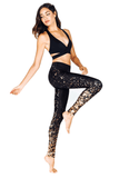 Gold Lights Legging - INFLOWSTYLE  - 4