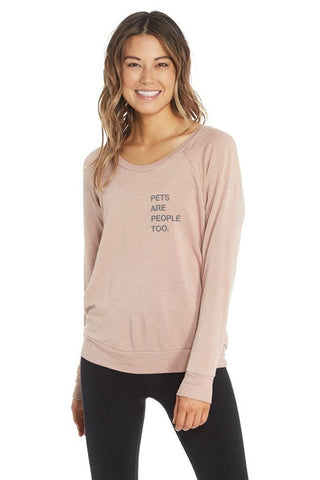 Chelsea Boat Neck Pullover - Pets are People Too