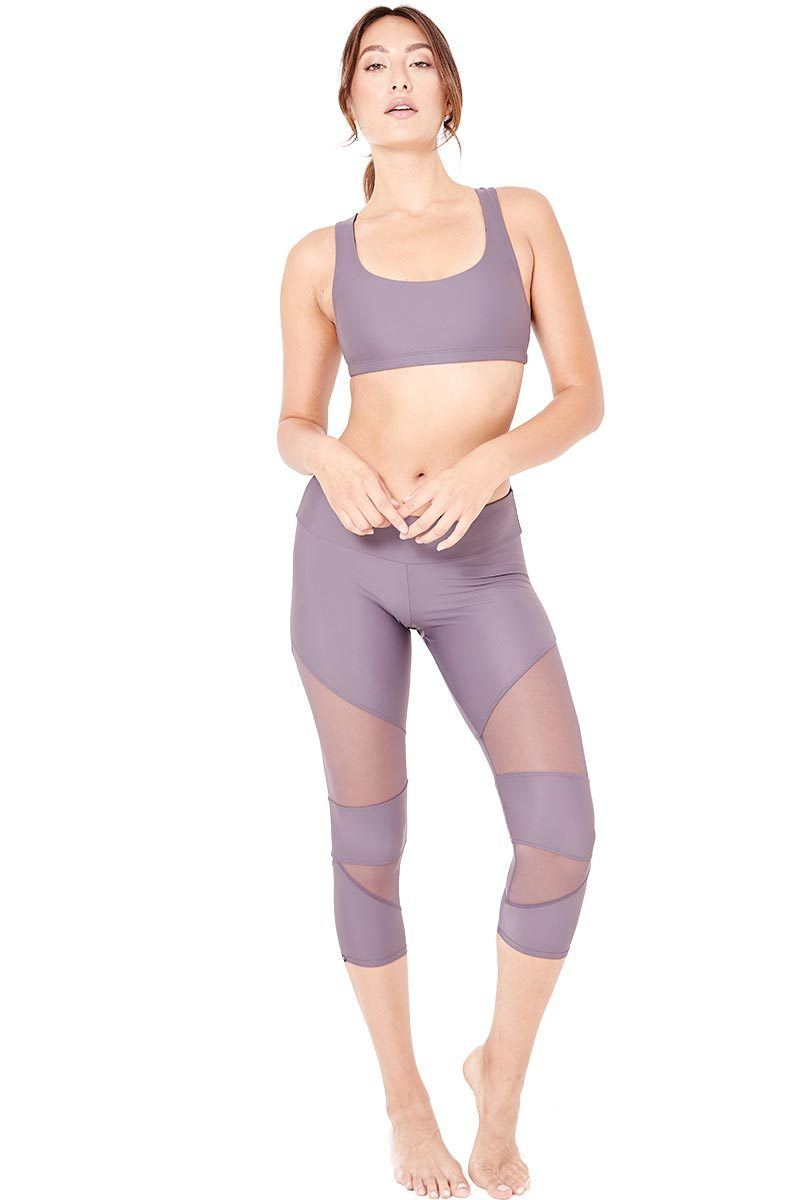 Cut Out Capri - Graphite - Onzie | INFLOWSTYLE