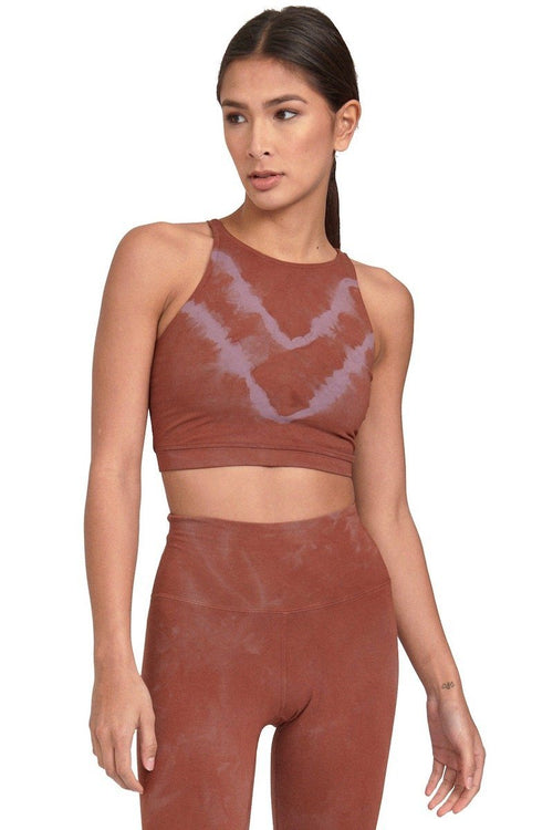 Grayson Crop - Fox/Mauve - Electric & Rose | INFLOWSTYLE