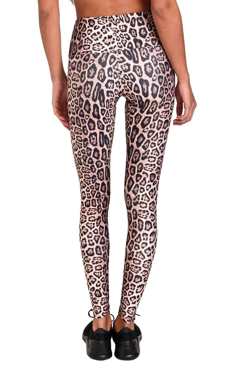 High Rise Legging - Leopard - Onzie | INFLOWSTYLE