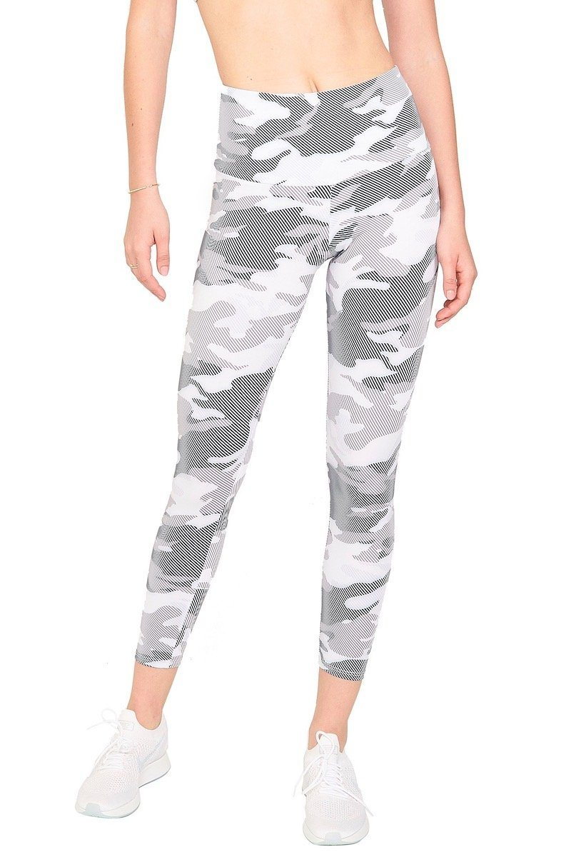 High Basic Midi - Dust Camo - Onzie | INFLOWSTYLE