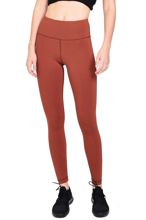 High Waist Core Pant - Terra - Vimmia | INFLOWSTYLE
