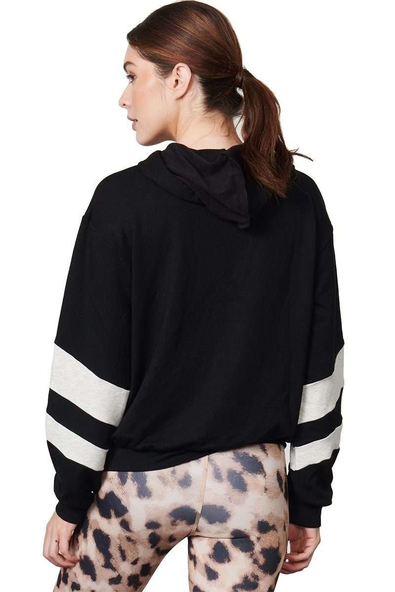 Josie Sweatshirt - Black/White
