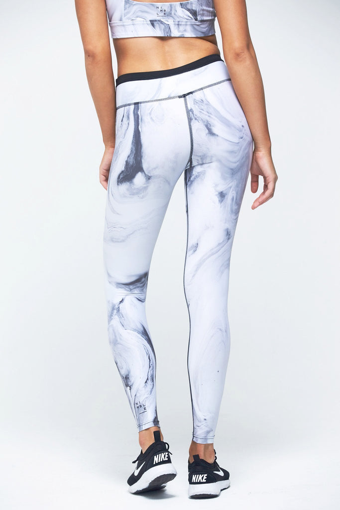 Lauren 7/8 Tight - Grey Marble