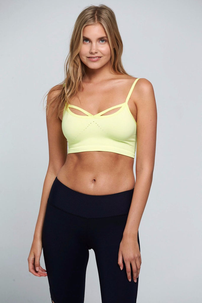Barely There Bra - Yellow
