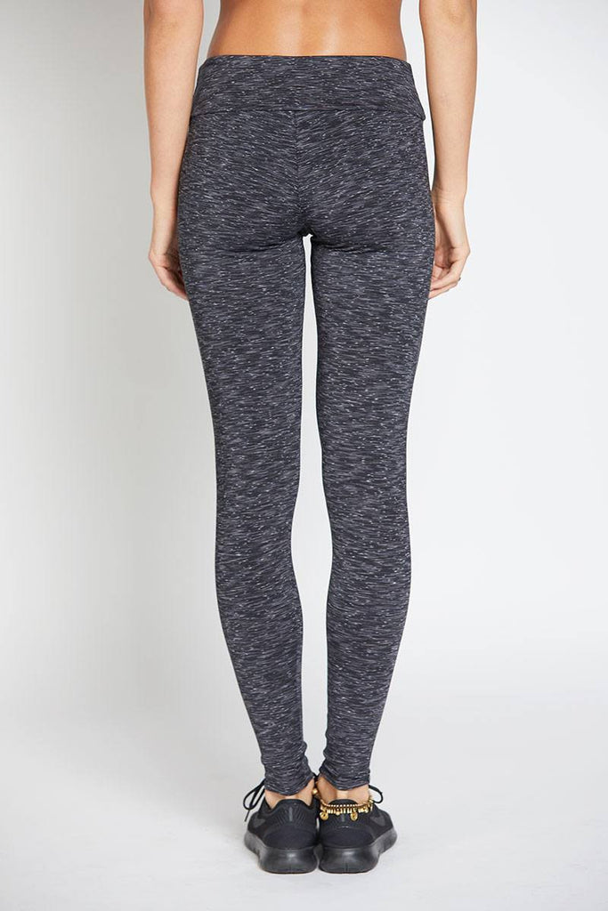 Long Legging - Heather Grey - INFLOWSTYLE  - 4