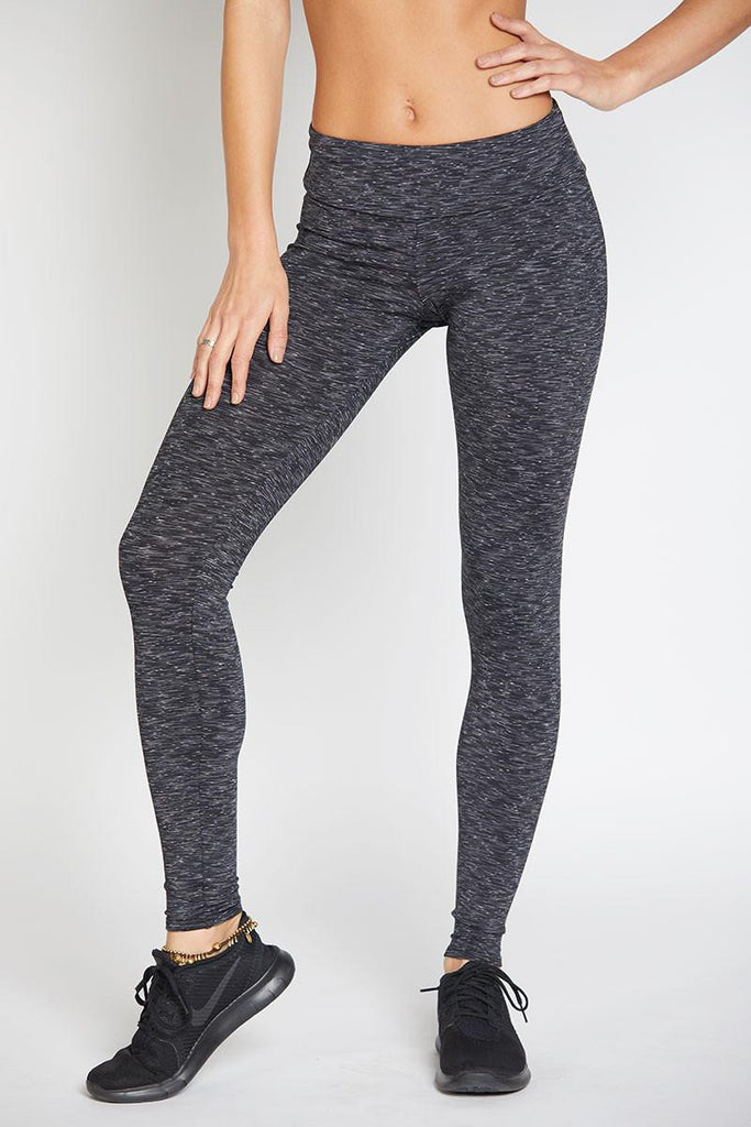 Long Legging - Heather Grey - INFLOWSTYLE  - 2
