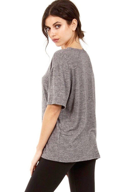The Mac Tee - Grey - Strut-This | INFLOWSTYLE