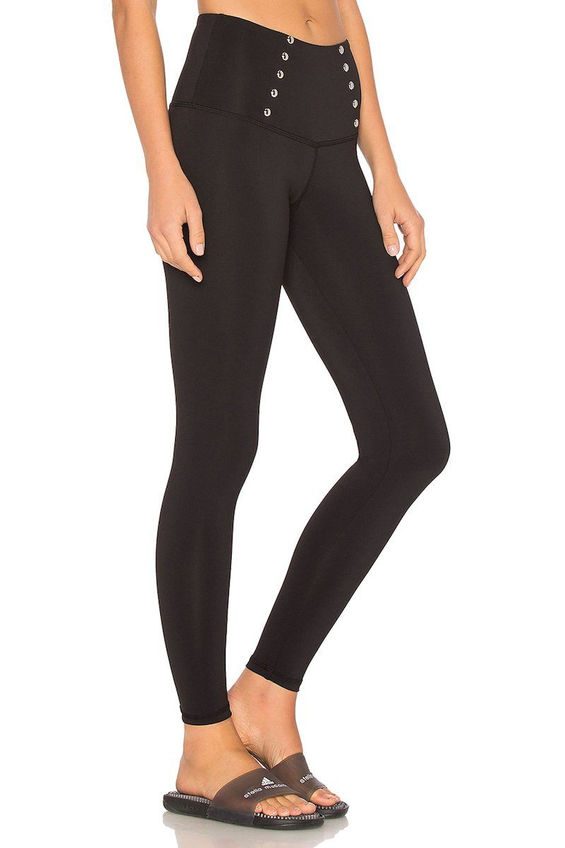 Madison Ankle Legging - Black - Strut-This | INFLOWSTYLE