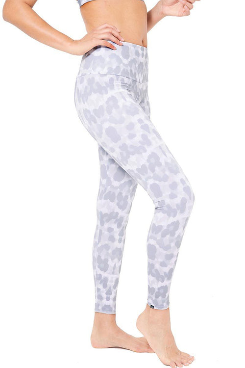 High Rise Legging - Nocturnal Leopard - Onzie | INFLOWSTYLE