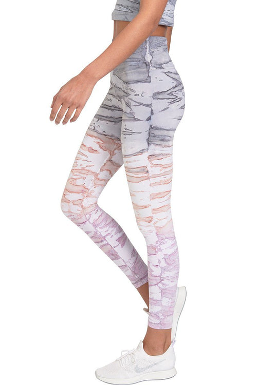 Perspective Core Legging - Mist Multi