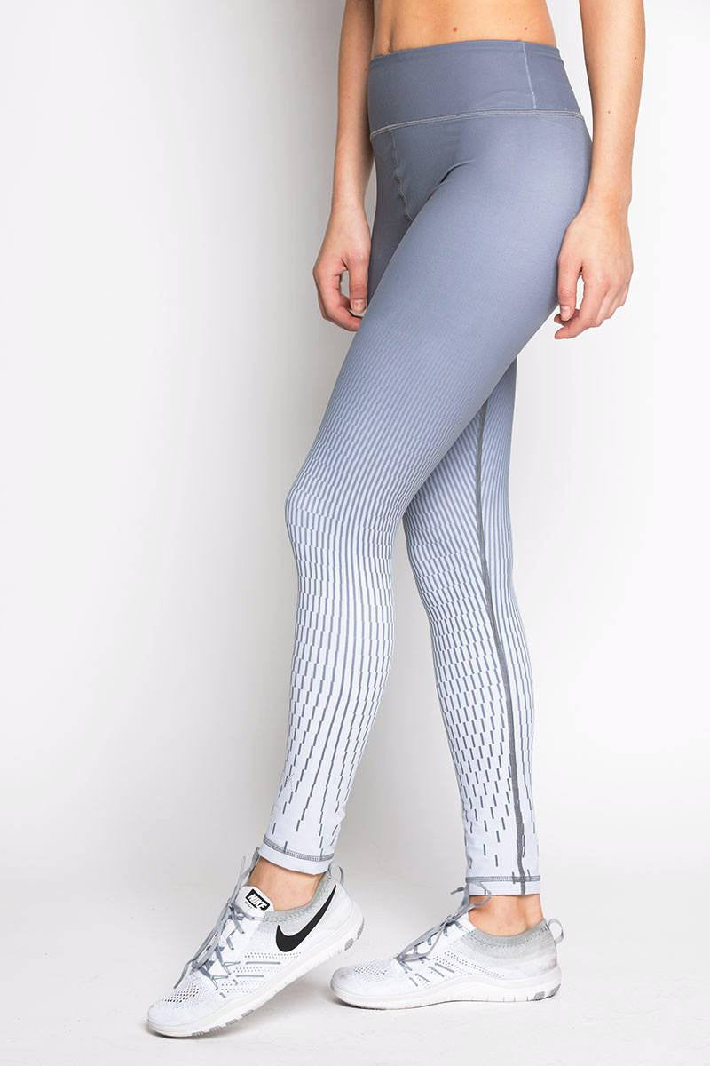 Rockell 7/8 Tight - Grey Pixel - INFLOWSTYLE  - 1