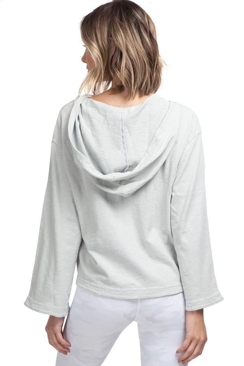 Repose Lace Front Hoodie - Ash - Vimmia | INFLOWSTYLE