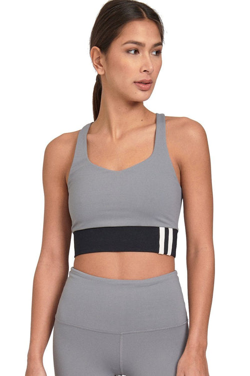 Resolute Bralette - Grey