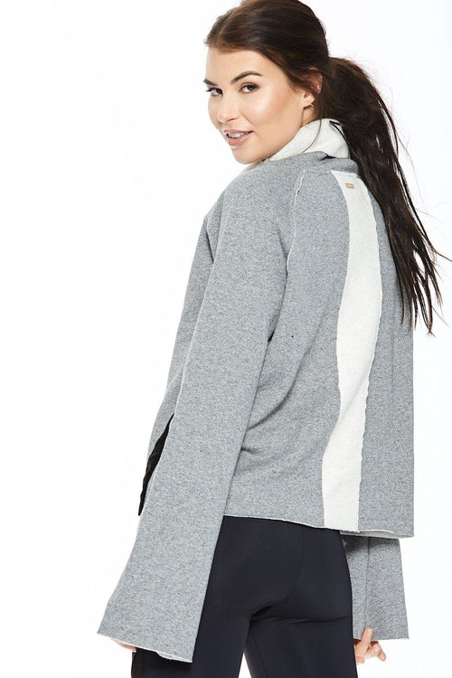 Riki Pullover - Heather Grey