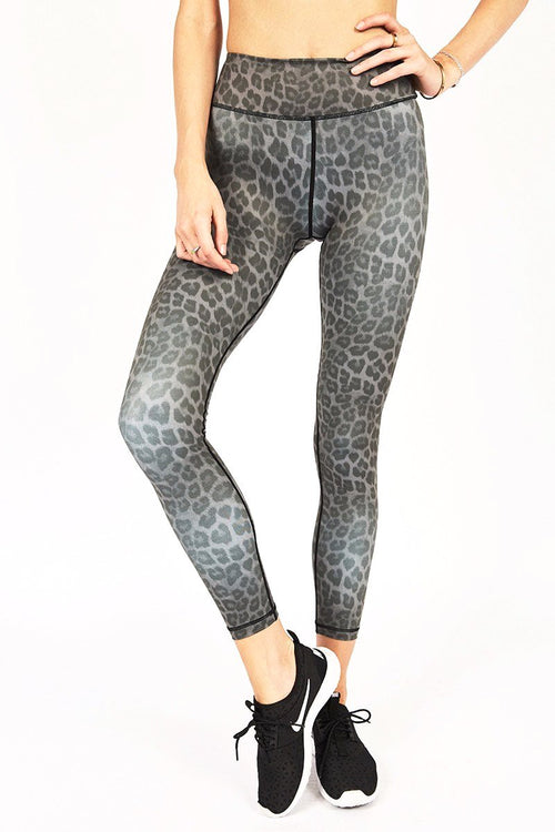 Rockell 7/8 Tight - Charcoal Leopard - Vie Active | INFLOWSTYLE