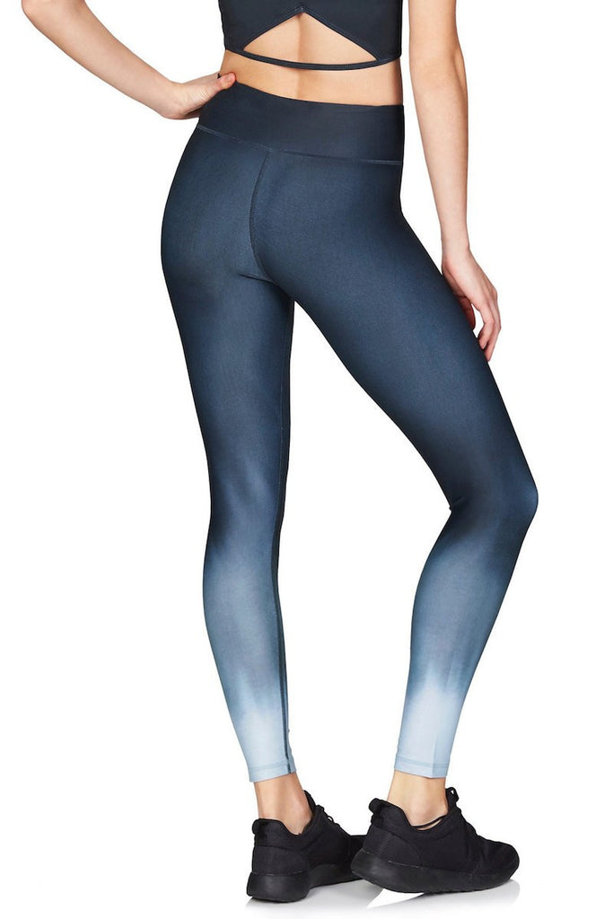Rockell Compression Tight - Twilight Ombré - INFLOWSTYLE  - 2