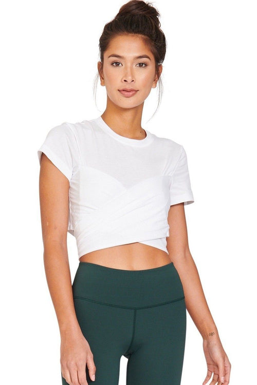 Ruth Crop - White