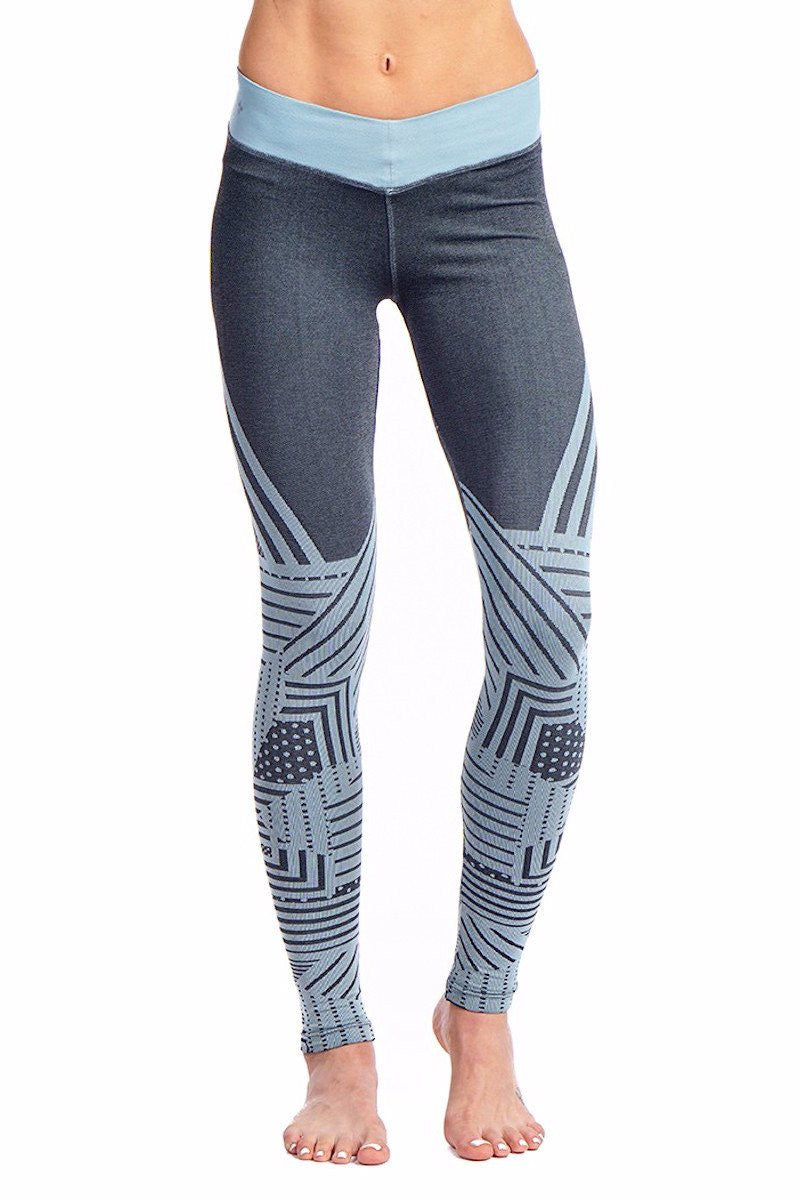 Jem Legging - Indian Sage - Nux | INFLOWSTYLE
