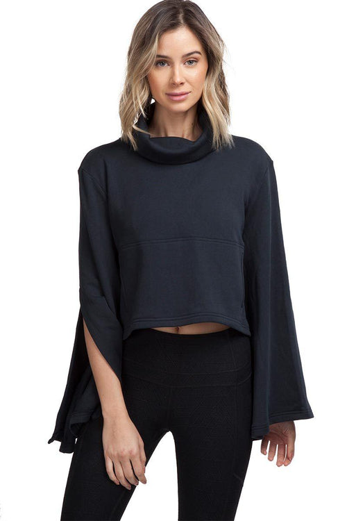 Salvation Turtleneck - Black - Free People | INFLOWSTYLE