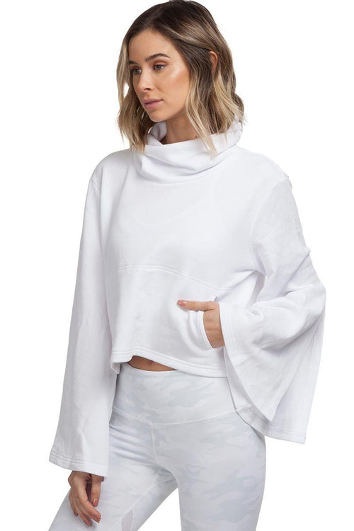 Salvation Turtleneck - White - Free People | INFLOWSTYLE