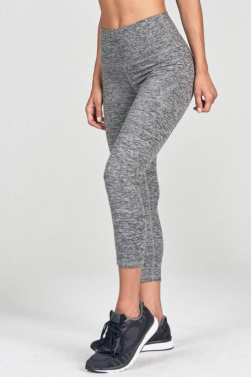 Second Skin Legging - Marled Grey - Joah Brown | INFLOWSTYLE