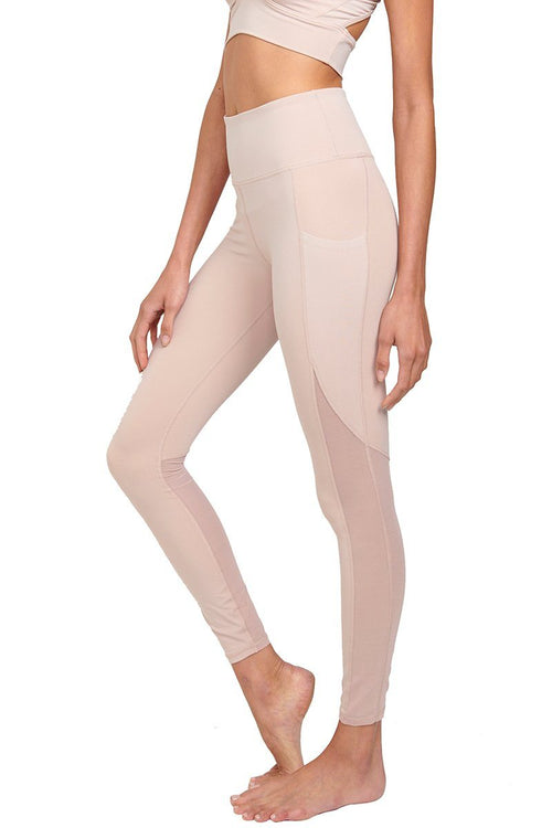 Clyde Tight - Sepia Rose - Varley | INFLOWSTYLE