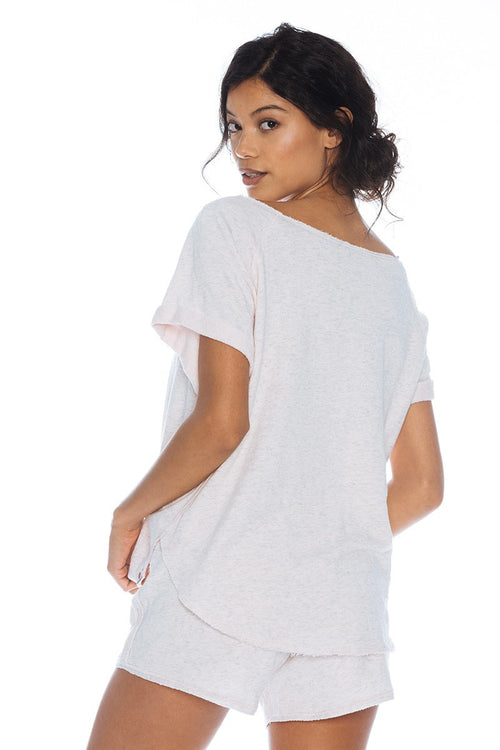 Prep Cuff Tee - Vimmia | INFLOWSTYLE