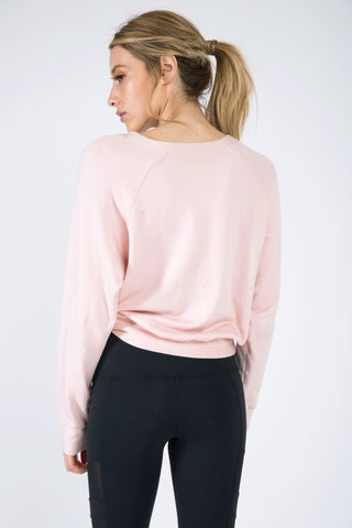 The Sky Sweatshirt - Blush