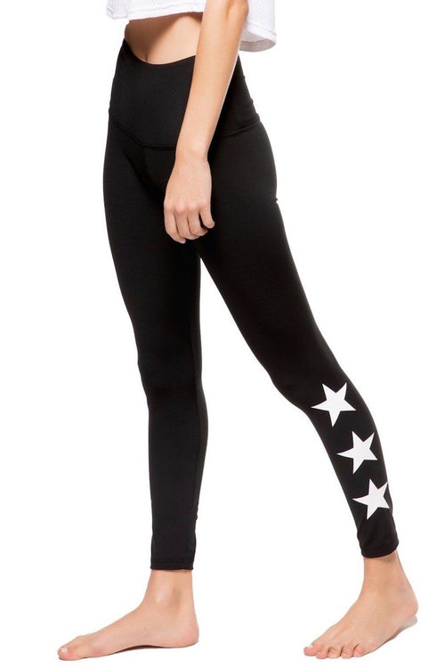 The Teagan Long - Black/White Star - Strut-This | INFLOWSTYLE