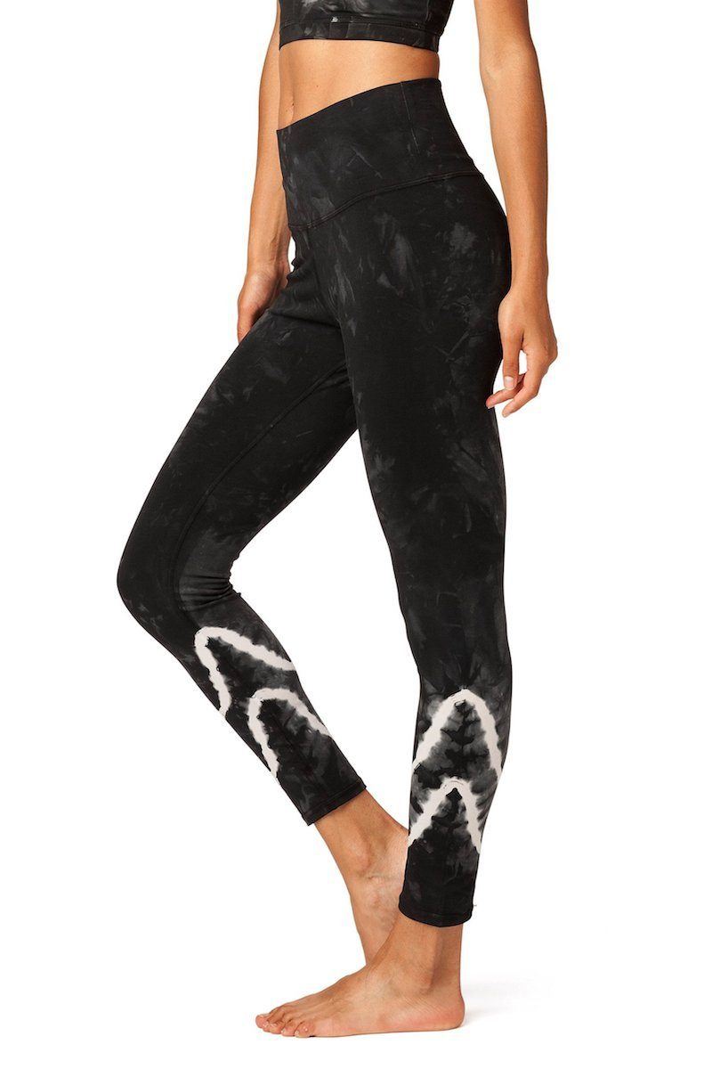 Sunset Legging - Asphalt - Electric & Rose | INFLOWSTYLE