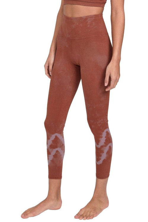 Sunset Legging - Fox/Mauve